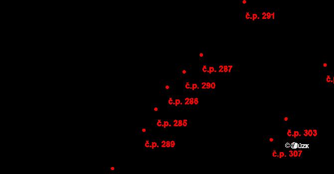 Tašovice 286, Karlovy Vary na parcele st. 643 v KÚ Tašovice, Katastrální mapa