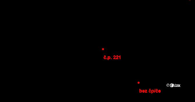 Předměstí 221, Opava na parcele st. 2164 v KÚ Opava-Předměstí, Katastrální mapa