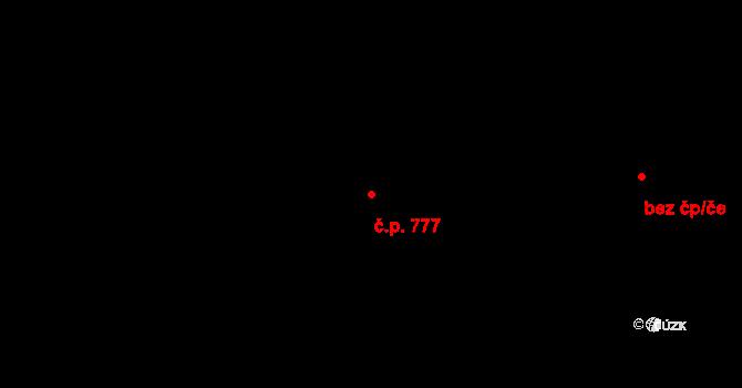 Horní Těrlicko 777, Těrlicko na parcele st. 3922 v KÚ Horní Těrlicko, Katastrální mapa
