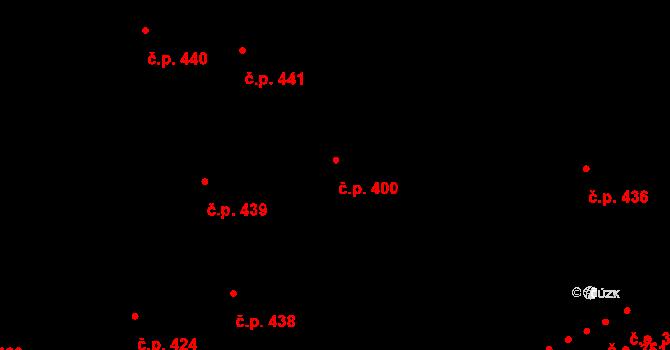 Znojmo 400 na parcele st. 5297/5 v KÚ Znojmo-město, Katastrální mapa