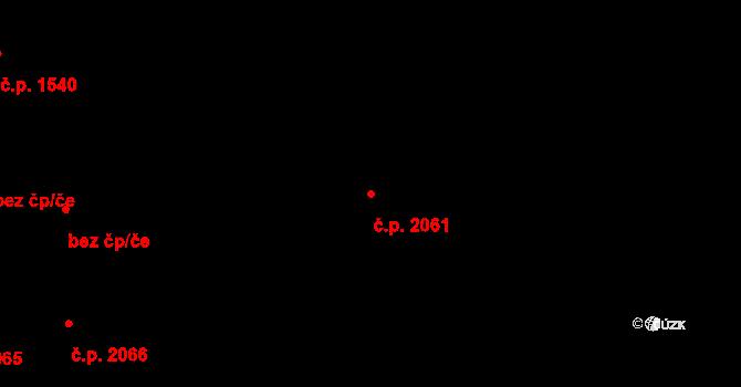 Nové Město 2061, Praha na parcele st. 300/1 v KÚ Nové Město, Katastrální mapa
