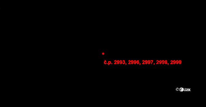 Jihlava 2993,2996,2997,2998, na parcele st. 3514/18 v KÚ Jihlava, Katastrální mapa