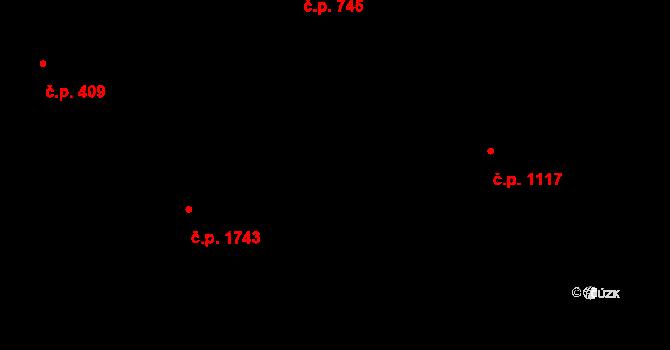 Frýdlant 418, Frýdlant nad Ostravicí na parcele st. 2347/1 v KÚ Frýdlant nad Ostravicí, Katastrální mapa