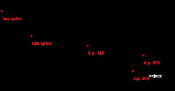 Kolín III 146, Kolín na parcele st. 1065 v KÚ Kolín, Katastrální mapa