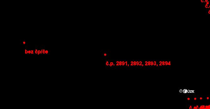 Jihlava 2891,2892,2893,2894 na parcele st. 3514/22 v KÚ Jihlava, Katastrální mapa