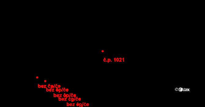 Rybáře 1021, Karlovy Vary na parcele st. 405/3 v KÚ Rybáře, Katastrální mapa