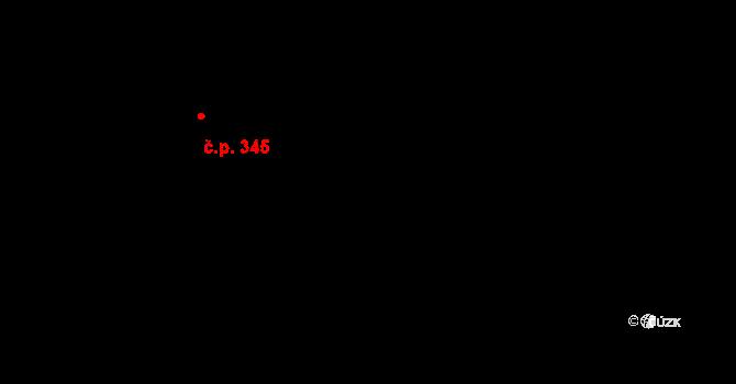 Staré Hory 351, Jihlava na parcele st. 567 v KÚ Staré Hory, Katastrální mapa