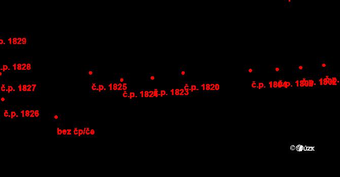 Jihlava 1820 na parcele st. 3692 v KÚ Jihlava, Katastrální mapa