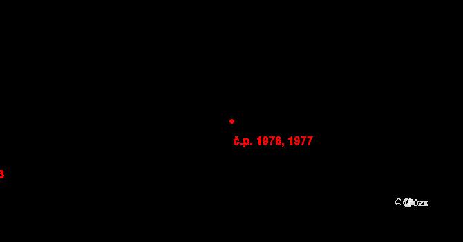 Kročehlavy 1976,1977, Kladno na parcele st. 3648 v KÚ Kročehlavy, Katastrální mapa