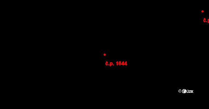 Liberec XXX-Vratislavice nad Nisou 1644, Liberec na parcele st. 3396/3 v KÚ Vratislavice nad Nisou, Katastrální mapa