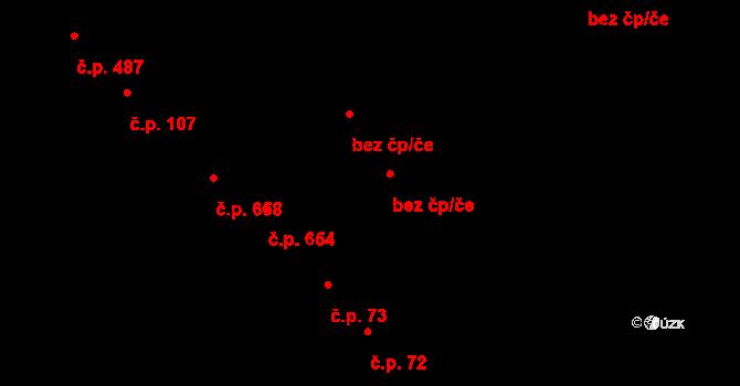 Pardubice 42718163 na parcele st. 126/2 v KÚ Studánka, Katastrální mapa