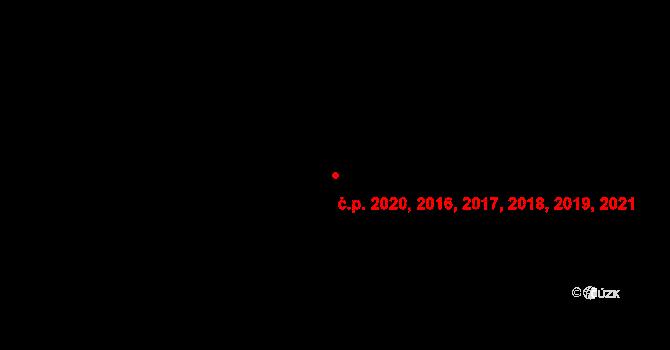 Blansko 2016,2017,2018,2019, na parcele st. 3318/5 v KÚ Blansko, Katastrální mapa