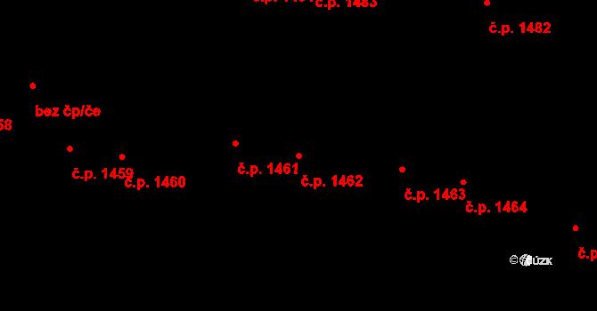 České Budějovice 7 1462, České Budějovice na parcele st. 3430 v KÚ České Budějovice 7, Katastrální mapa