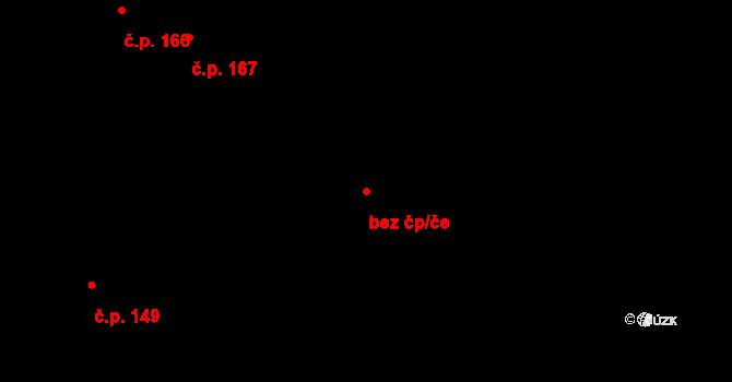 Osečná 40848167 na parcele st. 161/2 v KÚ Osečná, Katastrální mapa