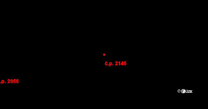 Nový Hradec Králové 2145, Hradec Králové, Katastrální mapa
