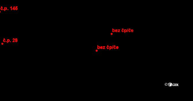 Aš 41895177 na parcele st. 105 v KÚ Doubrava u Aše, Katastrální mapa