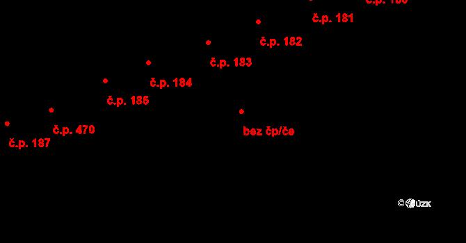 Čejč 78453186 na parcele st. 325/2 v KÚ Čejč, Katastrální mapa