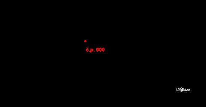 Strašnice 900, Praha na parcele st. 137 v KÚ Strašnice, Katastrální mapa