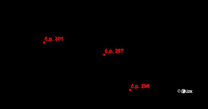 Staré Hory 297, Jihlava na parcele st. 483 v KÚ Staré Hory, Katastrální mapa