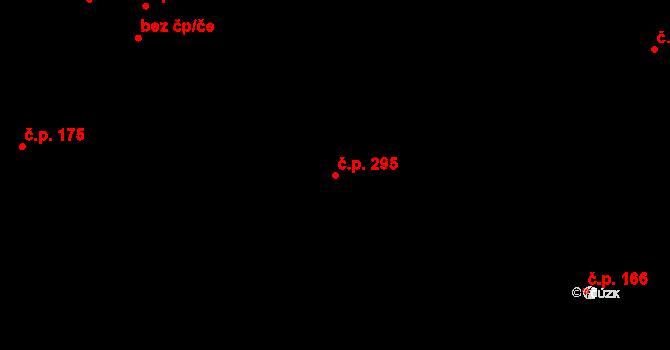 Staré Hory 295, Jihlava na parcele st. 485 v KÚ Staré Hory, Katastrální mapa