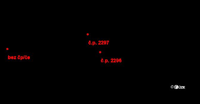 Žďár nad Sázavou 6 2296, Žďár nad Sázavou na parcele st. 6401 v KÚ Město Žďár, Katastrální mapa