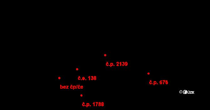 Nový Hradec Králové 2139, Hradec Králové na parcele st. 3823 v KÚ Nový Hradec Králové, Katastrální mapa