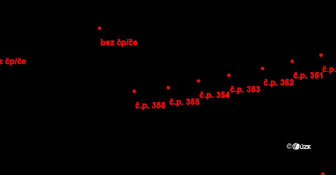 České Budějovice 7 355, České Budějovice na parcele st. 705 v KÚ České Budějovice 7, Katastrální mapa