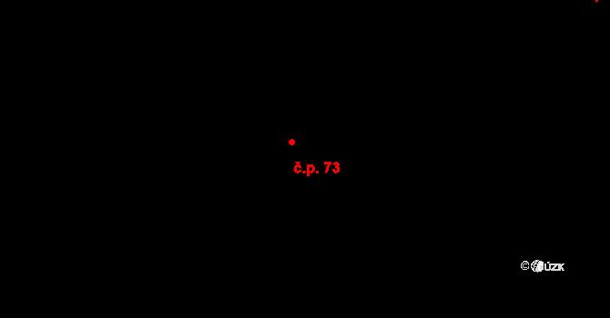Řešetova Lhota 73, Studnice na parcele st. 111 v KÚ Řešetova Lhota, Katastrální mapa