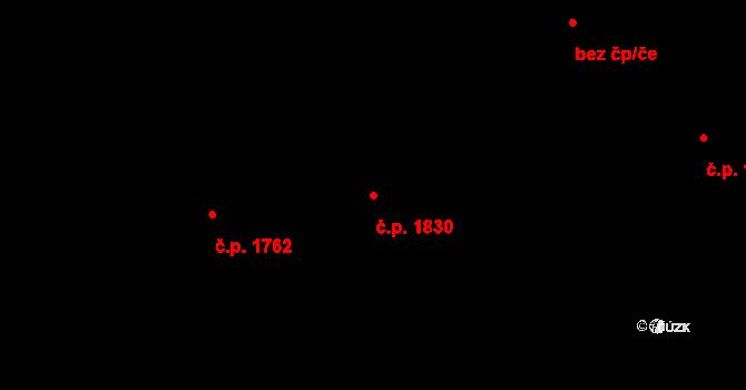 České Budějovice 2 1830, České Budějovice na parcele st. 1894/310 v KÚ České Budějovice 2, Katastrální mapa