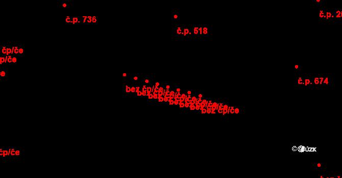 Mariánské Lázně 44652208 na parcele st. 691/5 v KÚ Mariánské Lázně, Katastrální mapa