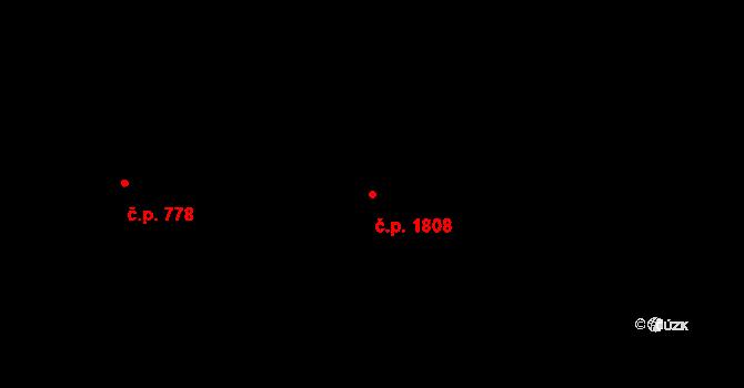 Liberec XXX-Vratislavice nad Nisou 1808, Liberec na parcele st. 3131/7 v KÚ Vratislavice nad Nisou, Katastrální mapa