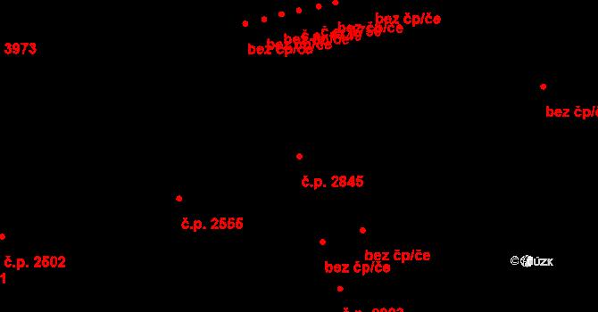Havlíčkův Brod 2845 na parcele st. 3149 v KÚ Havlíčkův Brod, Katastrální mapa
