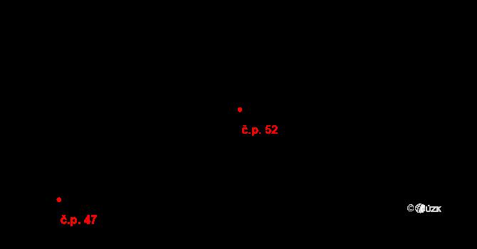 Velký Rapotín 52, Tachov na parcele st. 103 v KÚ Velký Rapotín, Katastrální mapa