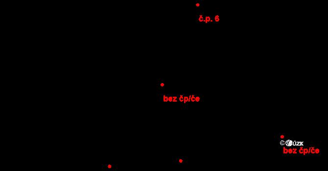 Horní Ostrovec 5, Ostrovec na parcele st. 5/1 v KÚ Horní Ostrovec, Katastrální mapa