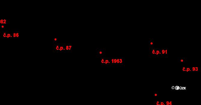 Havlíčkův Brod 1963 na parcele st. 7/1 v KÚ Havlíčkův Brod, Katastrální mapa