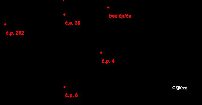 Zásada 4 na parcele st. 271 v KÚ Zásada, Katastrální mapa