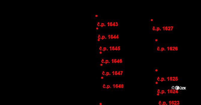 Žďár nad Sázavou 7 1646, Žďár nad Sázavou na parcele st. 4290 v KÚ Město Žďár, Katastrální mapa