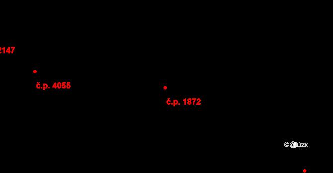 Havlíčkův Brod 1872 na parcele st. 4302 v KÚ Havlíčkův Brod, Katastrální mapa