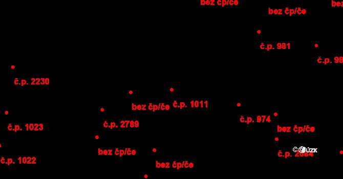 České Budějovice 5 1011, České Budějovice na parcele st. 2179/1 v KÚ České Budějovice 5, Katastrální mapa