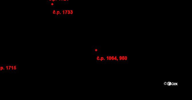 Vlašim 1064 na parcele st. 508/2 v KÚ Vlašim, Katastrální mapa