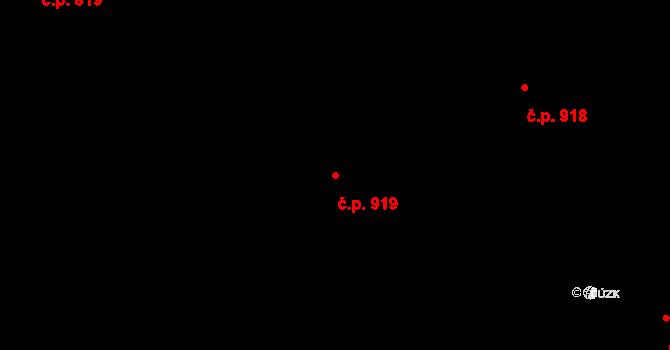 Nové Město 919, Praha na parcele st. 58 v KÚ Nové Město, Katastrální mapa