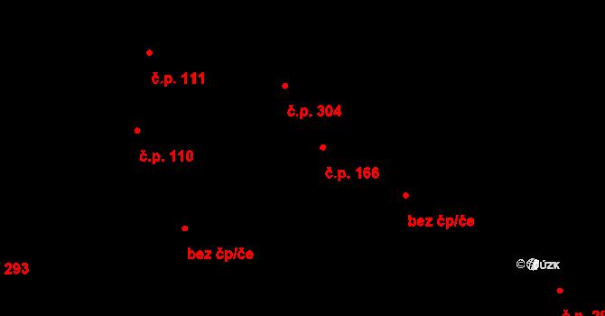Davle 166 na parcele st. 473 v KÚ Davle, Katastrální mapa