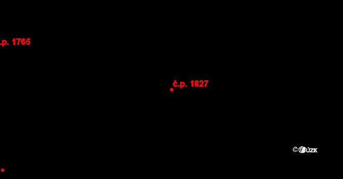 České Budějovice 2 1827, České Budějovice na parcele st. 1894/297 v KÚ České Budějovice 2, Katastrální mapa