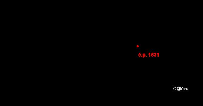 Michle 1531, Praha na parcele st. 485/3 v KÚ Michle, Katastrální mapa