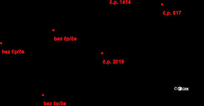 Nové Město 2019, Praha na parcele st. 1865/3 v KÚ Nové Město, Katastrální mapa