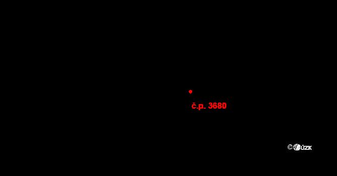 Frýdek 3680, Frýdek-Místek na parcele st. 6465/1 v KÚ Frýdek, Katastrální mapa