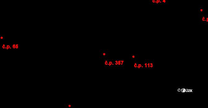 Pustkovec 357, Ostrava na parcele st. 4232/1 v KÚ Pustkovec, Katastrální mapa