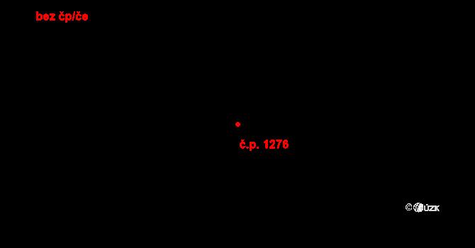 Slatina 1276, Brno na parcele st. 798/13 v KÚ Slatina, Katastrální mapa