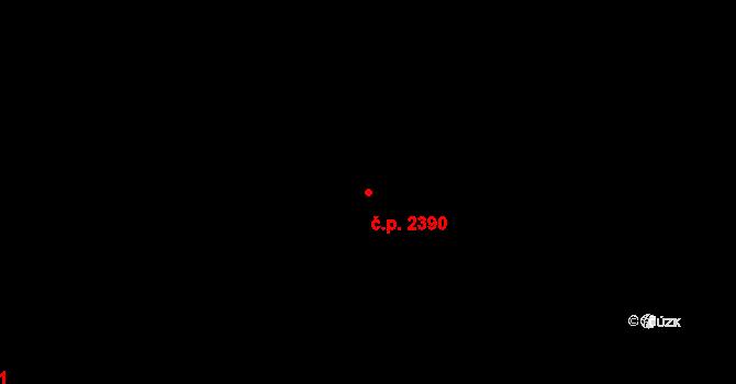 Ústí nad Labem-centrum 2390, Ústí nad Labem na parcele st. 1922/4 v KÚ Ústí nad Labem, Katastrální mapa