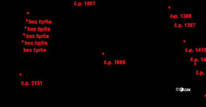 Česká Lípa 1888 na parcele st. 4339 v KÚ Česká Lípa, Katastrální mapa